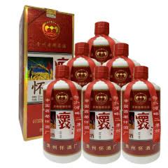 融汇陈年老酒 53°怀酒 酱香型500ml(6瓶装)2012年