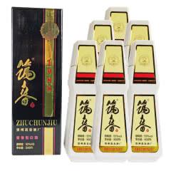 53°酱香型筑春酒复古版黑盒500ml*6瓶整箱
