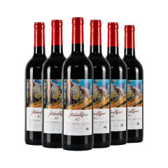 澳大利亚原瓶进口乔睿庄园W7赤霞珠干红葡萄酒750ml*6整箱装