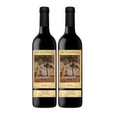 澳大利亚原瓶进口红酒 海德堡混凝干红葡萄酒750ml*2