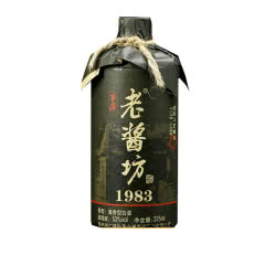 53°坤沙酱香纯粮食固态发酵高粱白酒老酱坊单瓶375ml