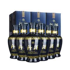 汾酒 53° 蓝汾(仿蓝瓷) 475mL *6瓶 整箱 清香型白酒