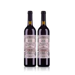 张裕玫瑰甜红葡萄酒750ml(双瓶装)