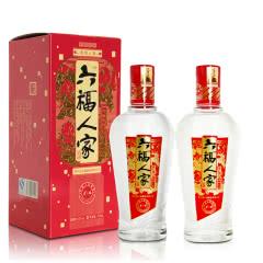 50° 金六福  六福人家475ml(双瓶装)