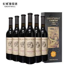 中国长城特选级解百纳礼盒装干红葡萄酒750ml(6瓶装)(新老包装随机发货)