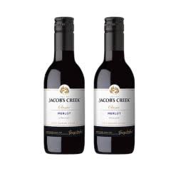 澳洲原装进口杰卡斯经典系列梅洛干红葡萄酒红酒187ml*2