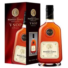 【法国原酒进口】高度烈酒 洋酒 拿破仑白兰地 700ml 霍尼康帝VSOP白兰地(白标)
