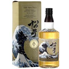 48°松井泥煤味单一麦芽威士忌700ml