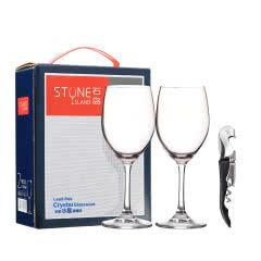 石岛罗马系列水晶杯+嘉年华开瓶器