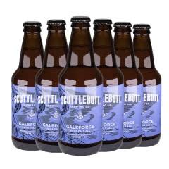 美人鱼飓风IPA瓶装啤酒美国原装进口355ml*6瓶(六连包)