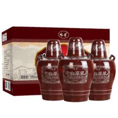 53° 汾酒产地杏花村 10年老白原浆清香型白酒整箱500ml*3