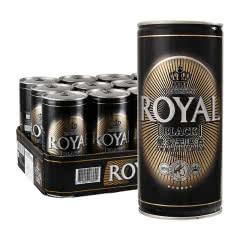 皇家(Royal)丹麦进口黑啤酒 1L*12罐