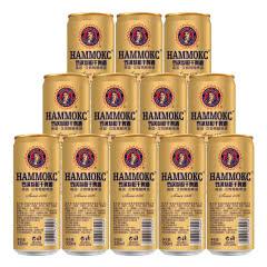 德国汉姆罗汉参精酿超干啤酒330ml*12