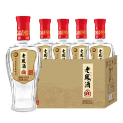 52度纯粮酒 老凤酒 柔和浓香型 固态纯粮白酒 新品 500ml*4 整箱装