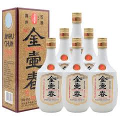 54°金壶春酒改革开放四十周年纪念酱香型白酒500ml*6整箱装(2018年)