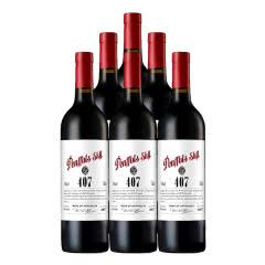 澳大利亚原瓶进口红酒 奔富星空407西拉干红葡萄酒750ml*6瓶整箱