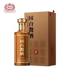 53°贵州茅台镇国台酒国台酱酒纯粮食酒高度酒水礼盒酒 酱香型白酒500ml