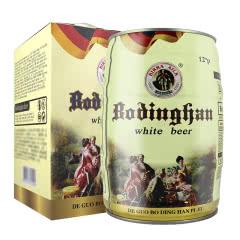 德国工艺啤酒 5L桶装白啤 麦香原浆精酿畅饮啤酒(约10斤)大桶装 5000ml
