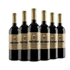西班牙进口 欧科城堡精选干红葡萄酒750ml 六支装