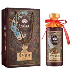 53°贵州茅台集团 贵州酱酒·七窖优品 柔和酱香型礼盒单瓶装500ml