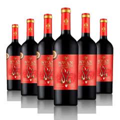 天鹅秋月谷.520干红葡萄酒750ml*6瓶