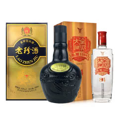 53°珍酒老珍酒500ml+52°全兴大曲荣耀(1984) 500ml