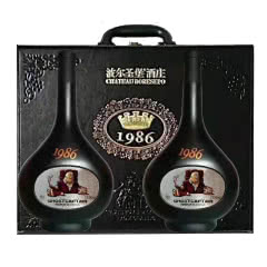 波尔圣堡至尊1986干红葡萄酒750ml*2瓶