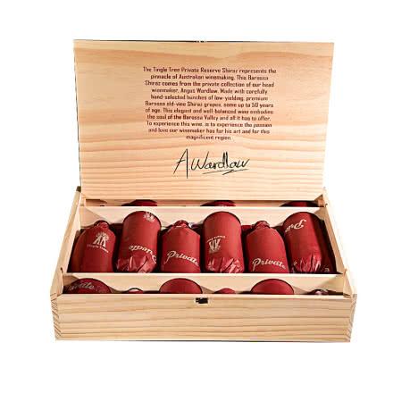 澳大利亚丁戈树庄园私藏西拉干红葡萄酒(老藤50)750ml*6(木箱装)