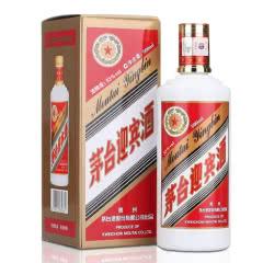 茅台迎宾酱香型白酒53度500ml单瓶装