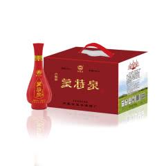 52°内蒙古白酒蒙特泉六瓶彩 浓香型白酒粮食酒500ml(6瓶)
