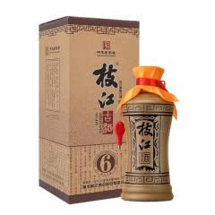 42°枝江白酒 古酒6 酒水礼盒 粮食酒 500ml*1瓶 单瓶装