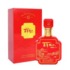 42°百年枝江 红坊500ml*1 礼盒装 浓香型白酒