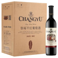 张裕 传承百年 干红葡萄酒 750ml*6瓶 整箱装 国产红酒
