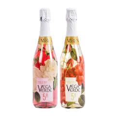 西班牙原瓶进口气泡酒 赛美诺维达桃红气泡酒起泡酒果酒白葡萄酒750ml*2