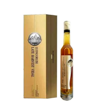 罗诺瑞斯晚收白葡萄酒纸375ml*2瓶带礼盒