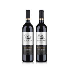 澳洲红酒天鹅庄家族经典西拉干红葡萄酒750ml*2
