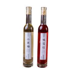 女士桃花红网红青梅酒低度甜酒女士果酒375ml*2瓶