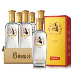 42° 劲牌 劲酒 毛铺苦荞酒 金荞 500ml*6瓶 整箱装 白酒