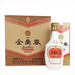 贵州54°金壶春酒 平坝酒厂复古版 酱香型白酒500ml*6瓶(整箱)