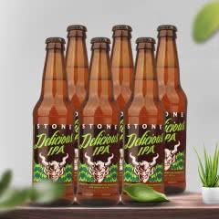 美国进口巨石精酿啤酒 巨石佳酿印度淡色艾尔啤酒355ml*6瓶