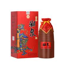 酒鬼酒 52度湘泉酒 馥郁香型礼盒白酒 湘泉乡恋 500ml单瓶装