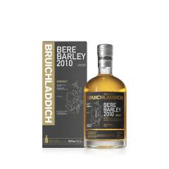 50°英国布赫拉迪古卓大麦2010单一麦芽苏格兰威士忌500ml