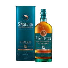 40°英国苏格登15年单一麦芽苏格兰威士忌700ml