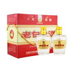 45°杏花村汾酒 (十) 老白汾酒225ml*2(2011年)