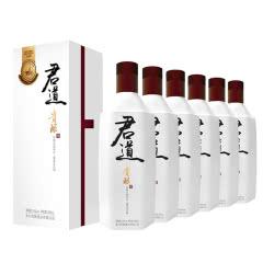 君道贵酿53°大曲坤沙酱香型白酒500ml *6新款君道 整箱白酒送礼礼盒