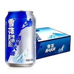 雪花啤酒(Snowbeer)勇闯天涯330mL(24听装)