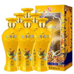 52度白酒西凤酒浓香型高度酒水500ml(6瓶装)整箱送3个礼品袋