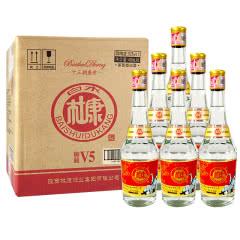 52度白水杜康御藏浓香型白酒450ml*6瓶
