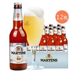 比利时原装进口麦蒂斯白啤酒 果味啤酒330ml*12瓶装