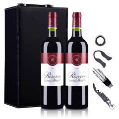 拉菲罗斯柴尔德珍藏波尔多法定产区红葡萄酒750ml*2(DBR行货)(礼盒装)